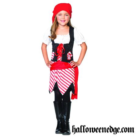 Образ пиратки для девочки